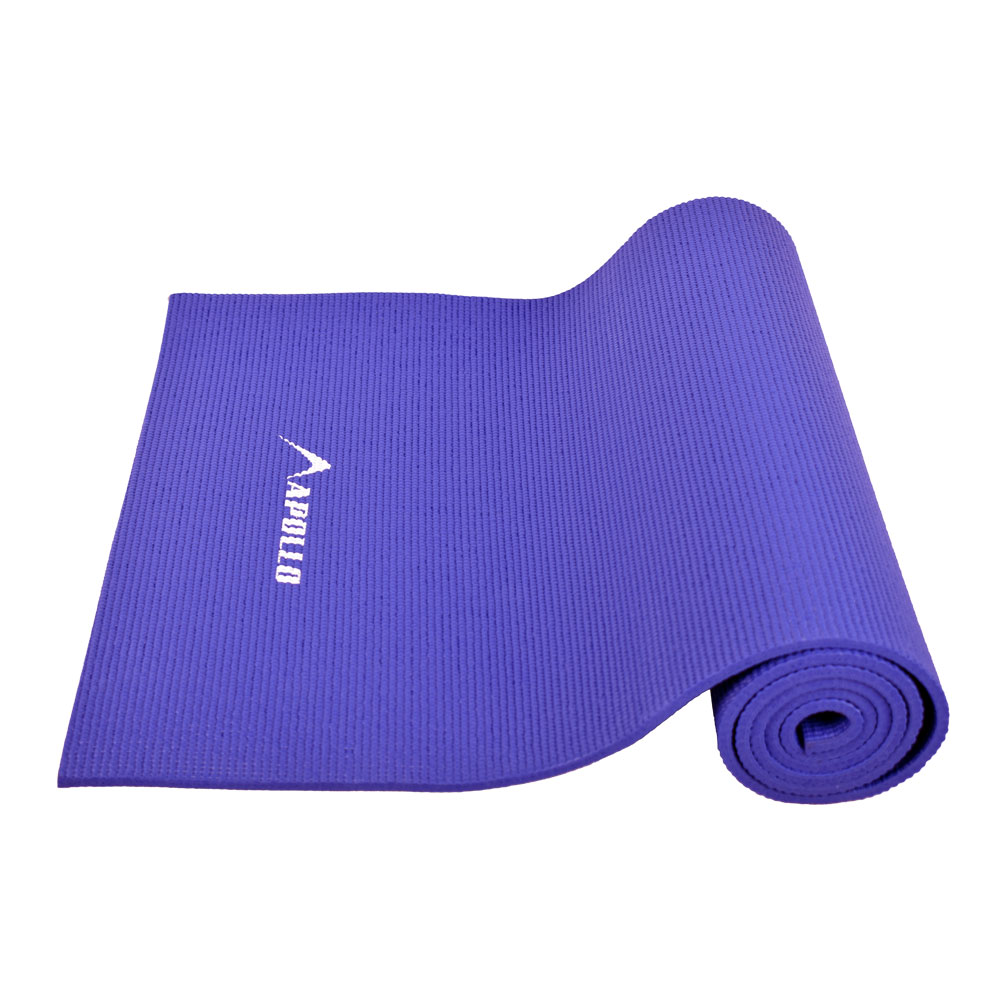 APOLLO FA0706 08MM PVC YOGA MAT – BLUE
