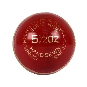 APOLLO VORTEX CRICKET BALL - RED