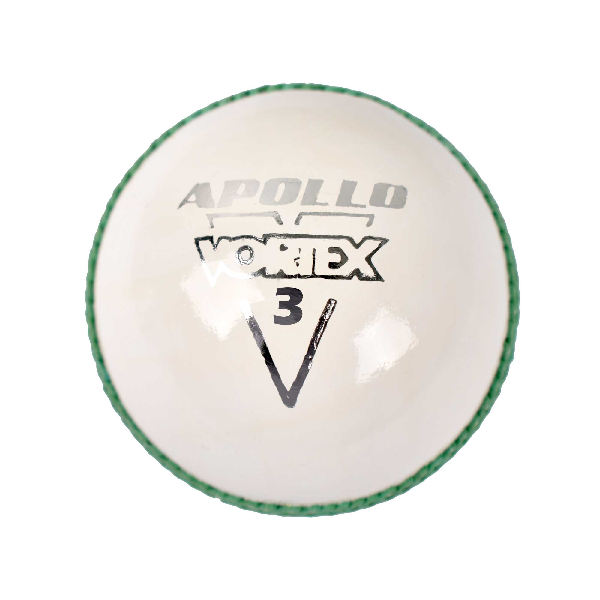 APOLLO VORTEX CRICKET BALL - WHITE
