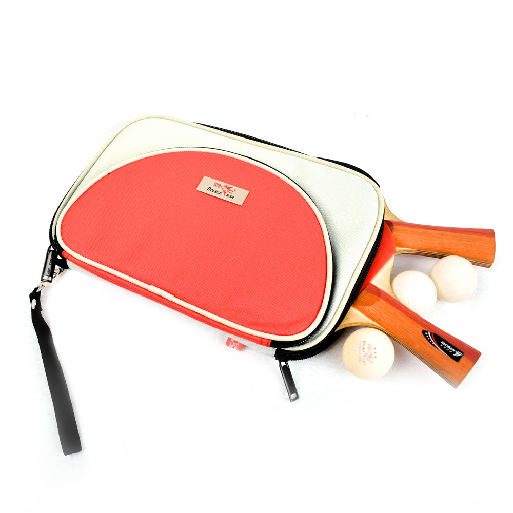 DOUBLE FISH T TYPE FASHION TABLE TENNIS RACKET BAG
