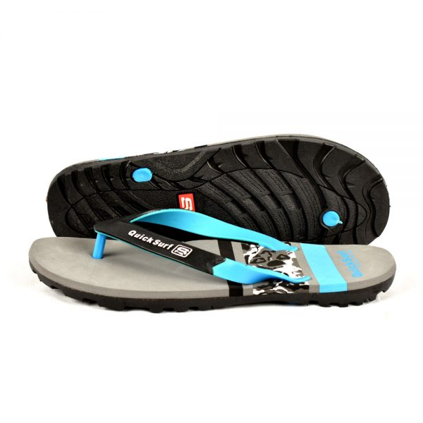 FLIPFLOP SLIPPERS FOR MEN QUICK SURF QUI-2346 MEN SLIPPERS – DARK GRAY (1)