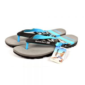 FLIPFLOP SLIPPERS FOR MEN QUICK SURF QUI-2346 MEN SLIPPERS - DARK GRAY