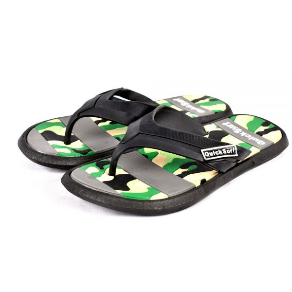 FLIPFLOP SLIPPERS FOR MEN QUICK SURF QUI-2380 MEN SLIPPERS – GREEN (4)
