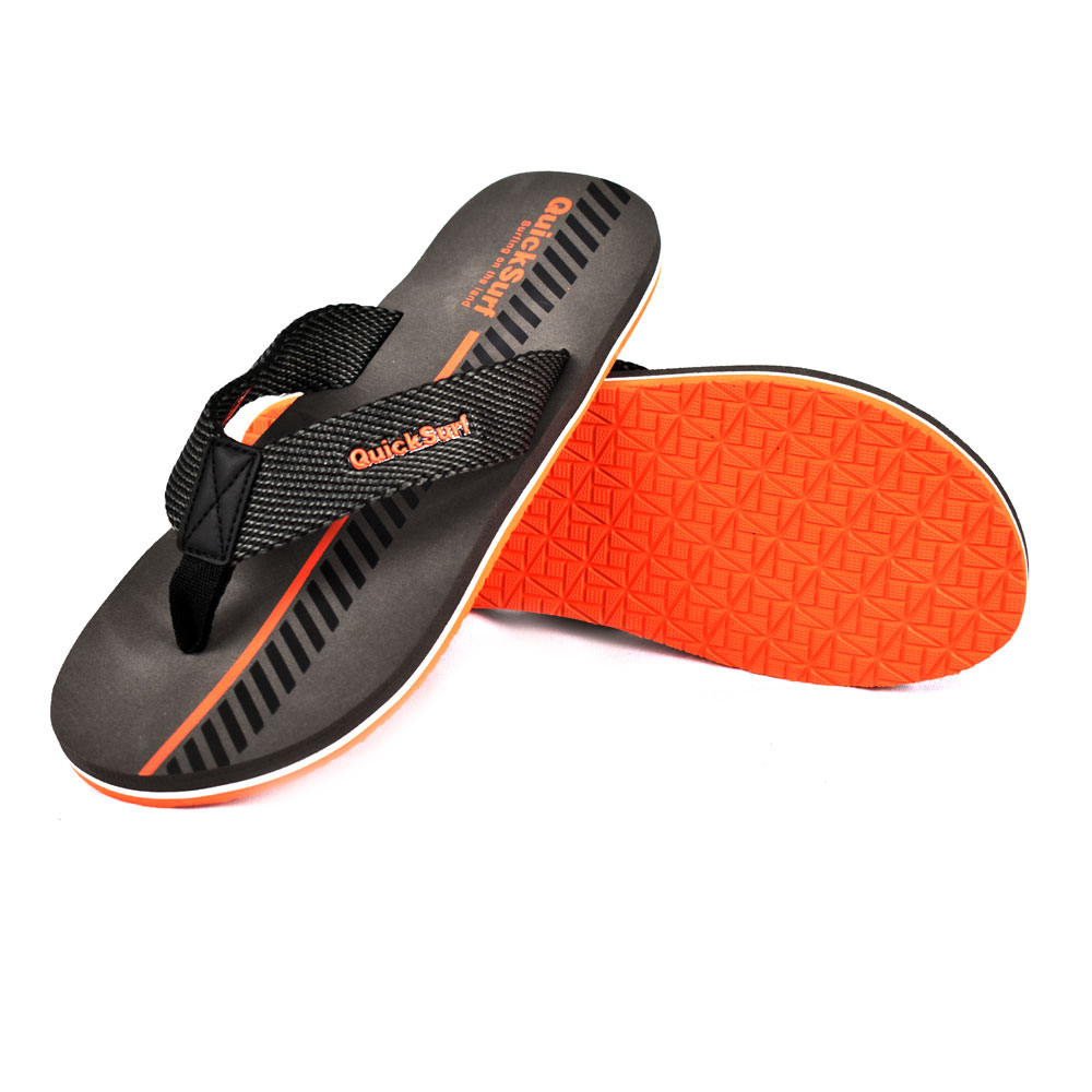 FLIPFLOP SLIPPERS FOR MEN QUICK SURF QUI-2387 MEN SLIPPERS - GRAY