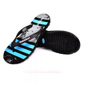 FLIPFLOP SLIPPERS FOR MEN QUICK SURF QUI-2391 MEN SLIPPERS - BLACK/BLUE