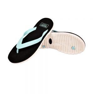 FLIPFLOP SLIPPERS FOR WOMEN QUICK SURF QUI-2806 WOMEN SLIPPERS - BLACK/GREEN