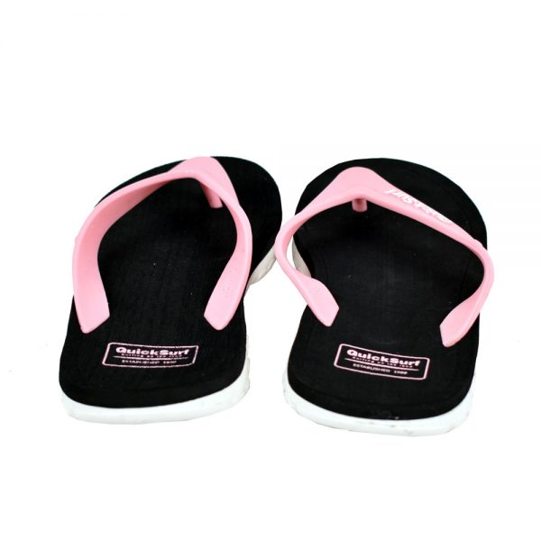 FLIPFLOP SLIPPERS FOR WOMEN QUICK SURF QUI-2806 WOMEN SLIPPERS – BLACKPINK (2)