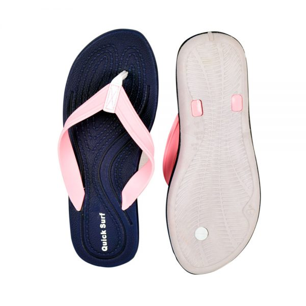 FLIPFLOP SLIPPERS FOR WOMEN QUICK SURF QUI-2816 WOMEN SLIPPERS – PINKBLUE (1)