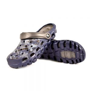 MENS CROCS QUICK SURF H-902-1 CROCS SHOES - GREY