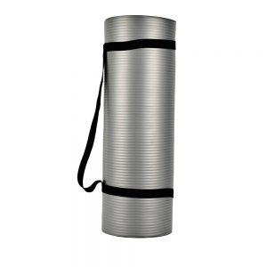 YOGA MAT APOLLO FA0714 MADE OF NBR MATERIAL - 10MM - GRAY