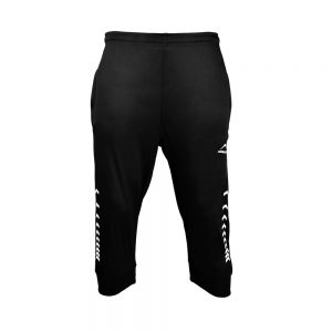 MEN'S INTERLOCK 3Q PANT 3/4 THREE QUARTER LENGTH CROPPED PANT APOLLO 91M220 - JET BLACK