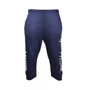MEN'S INTERLOCK 3Q PANT 3/4 THREE QUARTER LENGTH CROPPED PANT APOLLO 91M220 - NAVY BLUE