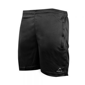 MEN'S MINI MESH SHORTS BREATHABLE SPORTS SHORTS APOLLO 91M240 - BLACK
