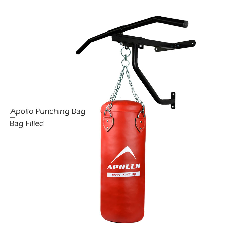 APOLLO 9BPR50 PUNCHING BAG FILLED - RED