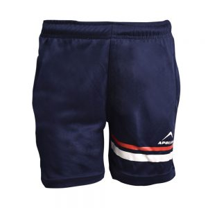 BOY'S RUNNING AND TRAINING INTERLOCK BERMUDA APOLLO 91B230 - NAVY BLUE