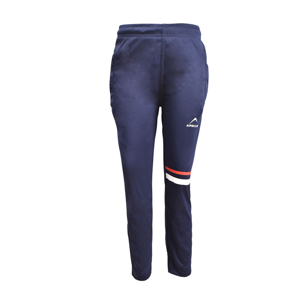 BOY'S RUNNING AND TRAINING PANT INTERLOCK TROUSER APOLLO 91B210 - NAVY BLUE
