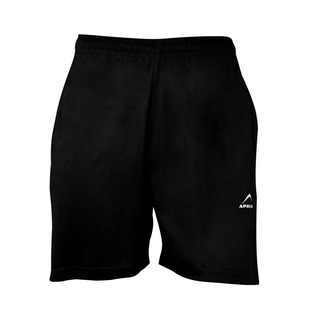 MEN'S RUNNING AND TRAINING INTERLOCK SHORT APOLLO 91M740 - BLACK