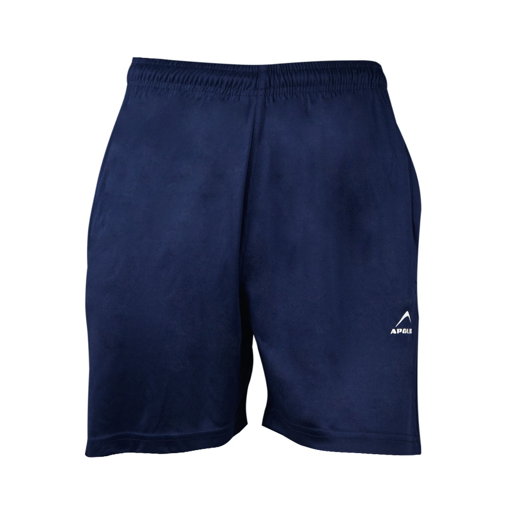 MEN'S RUNNING AND TRAINING INTERLOCK SHORT APOLLO 91M740 - NAVY BLUE