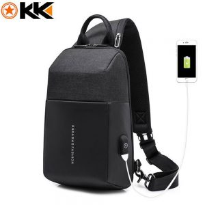 MESSENGER SHOULDER CROSS BAG KAKA 851 - BLACK