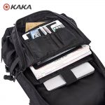 MULTIFUNCTIONAL BACKPACK TRAVEL BAG KAKA 2010 – BLACK (4)