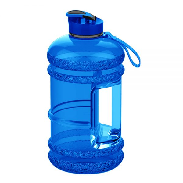 SPORTS WATER BOTTLE LARGE CAPACITY GYM BOTTLE APOLLO WB-25 – 2.2 LITTERS – BLUE (2)