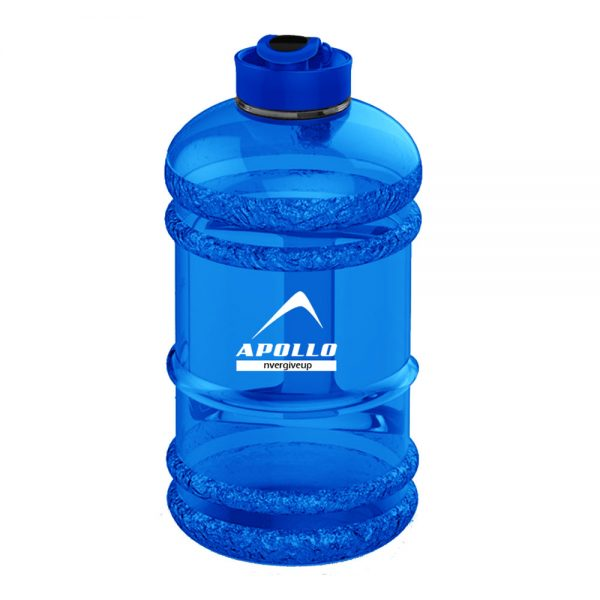 SPORTS WATER BOTTLE LARGE CAPACITY GYM BOTTLE APOLLO WB-25 – 2.2 LITTERS – BLUE (3)