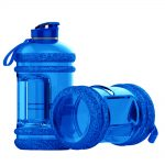 SPORTS WATER BOTTLE LARGE CAPACITY GYM BOTTLE APOLLO WB-25 – 2.2 LITTERS – BLUE (5)