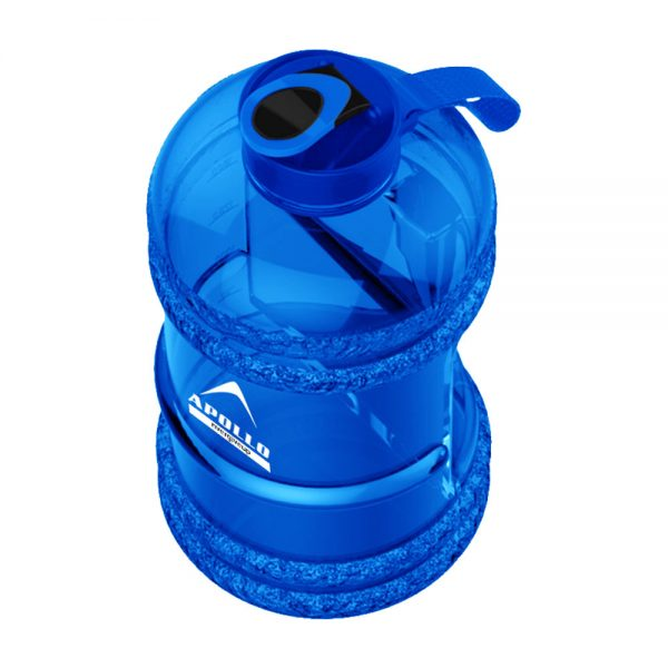 SPORTS WATER BOTTLE LARGE CAPACITY GYM BOTTLE APOLLO WB-25 – 2.2 LITTERS – BLUE (6)