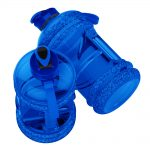 SPORTS WATER BOTTLE LARGE CAPACITY GYM BOTTLE APOLLO WB-25 – 2.2 LITTERS – BLUE (7)