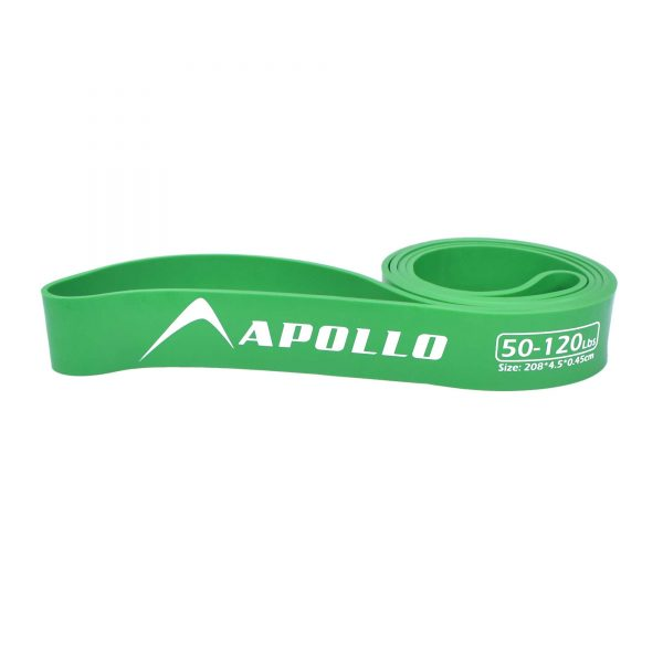 1PC LARGE HEAVY LOOP BAND GYM TRAINING RESISTANCE LOOPS APOLLO FALB23-45