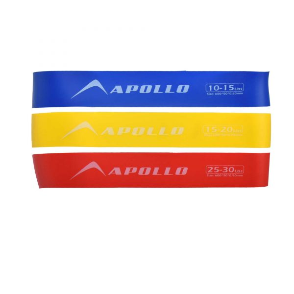 3PCS LOOP RESISTANCE BANDS GYM TRAINING LOOPS APOLLO FALB22-03 (2)