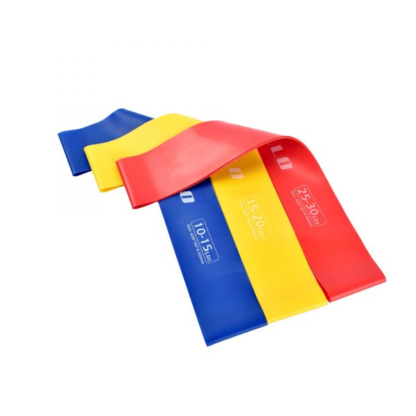 3PCS LOOP RESISTANCE BANDS GYM TRAINING LOOPS APOLLO FALB22-03 (3)