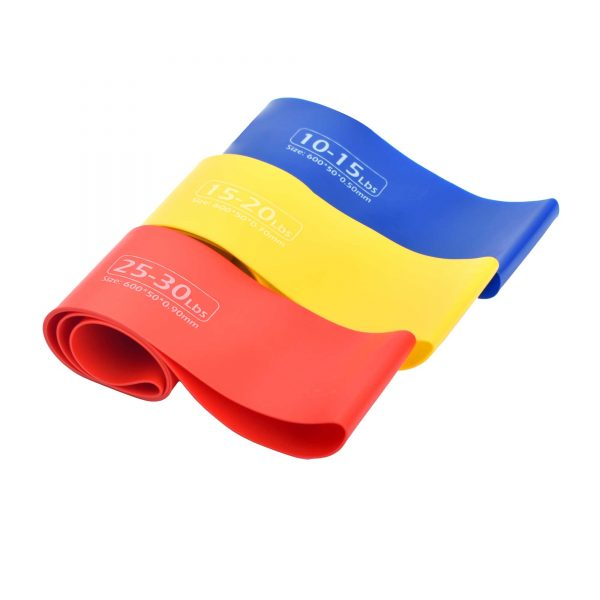 3PCS LOOP RESISTANCE BANDS GYM TRAINING LOOPS APOLLO FALB22-03 (5)
