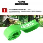 AOLIKES 3602 GYM TRAINING RESISTANCE BAND 50-125LBS (4)