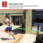 AOLIKES 3602 GYM TRAINING RESISTANCE BAND 50-125LBS (5)