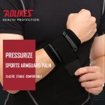 AOLIKES 7537 WRIST SUPPORT WITH ELASTIC STRAP – BLACK (2)