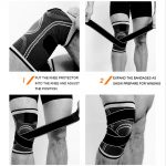 AOLIKES 7720 KNEE SUPPORT WITH ELASTIC STRAP – LARGE (3)