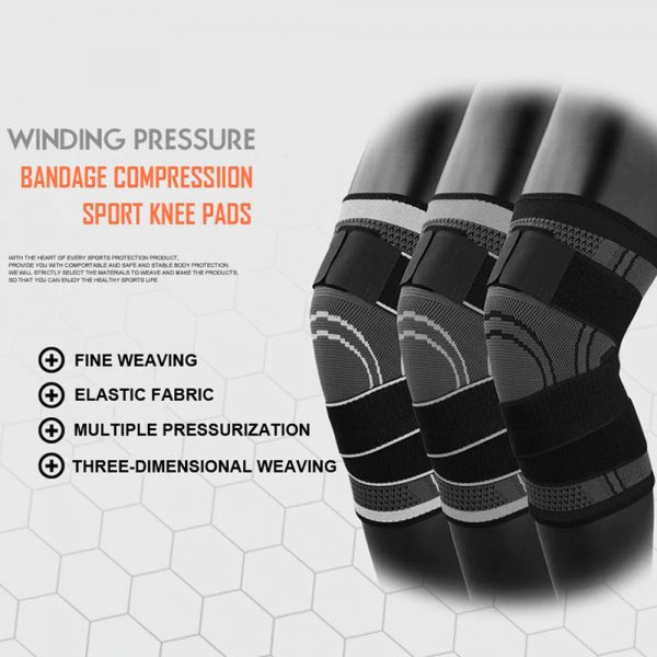 AOLIKES 7720 KNEE SUPPORT WITH ELASTIC STRAP – LARGE (5)