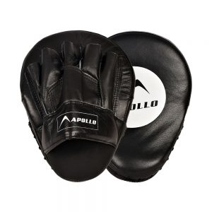 APOLLO 9BFR61 REXINE BOXING FOCUS PAD - BLACK