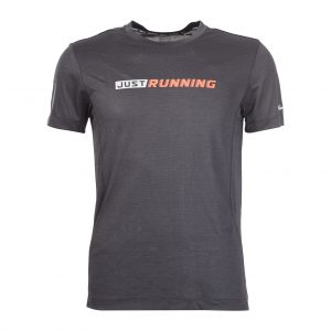 ERKE MENS CREW NECK T SHIRT RUNNING AND TRAINING TEE 11219219095 - BLACK