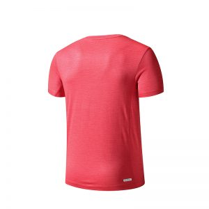 ERKE MENS CREW NECK T SHIRT RUNNING AND TRAINING TEE 11219219095 - RED
