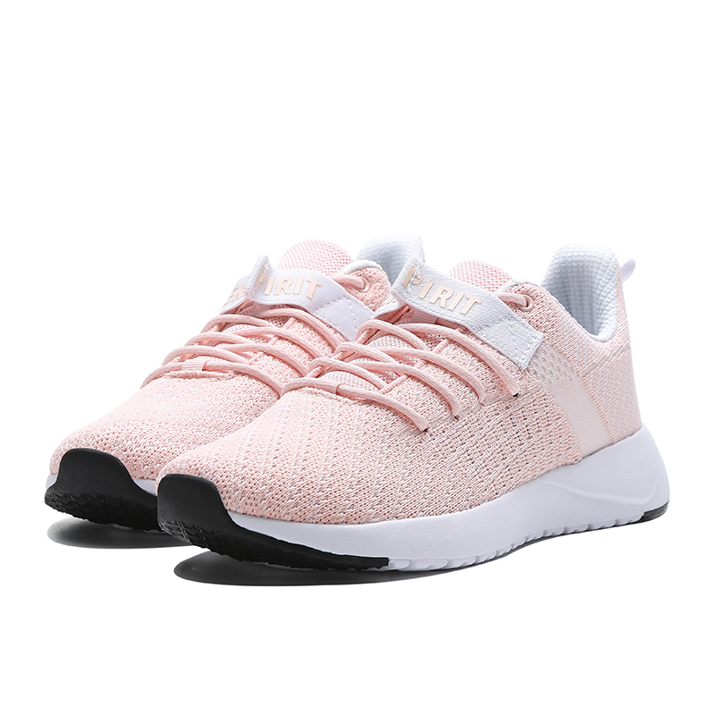 ERKE WOMENS RUNNING TRAINING CASUAL SPORTS SHOES 52119302049 - PINKWHITE