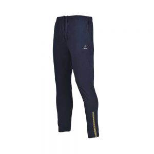 MENS LYCRA JERSEY PANT SPORTS CASUAL PANTS APOLLO 91M110 - NAVY BLUE