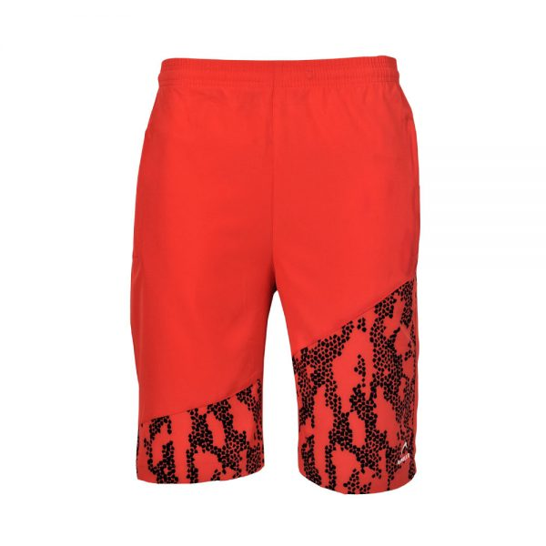 MENS MICRO PEACH BERMUDA SHORTS SPORTS CASUAL RUNNING TRAINING BOTTOM APOLLO 92M130 – RED (5)