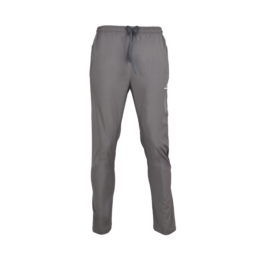 MENS MICRO PEACH PANT SPORTS CASUAL RUNNING TRAINING PANTS APOLLO 92M110 - DARK GRAY