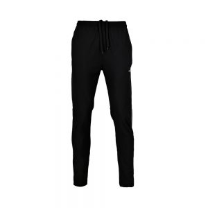 MENS MICRO PEACH PANT SPORTS CASUAL RUNNING TRAINING PANTS APOLLO 92M110 - JET BLACK