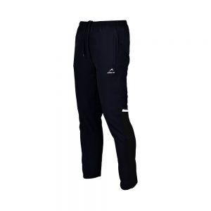 MENS MICRO PEACH PANT SPORTS CASUAL RUNNING TRAINING PANTS APOLLO 92M110 - NAVY BLUE