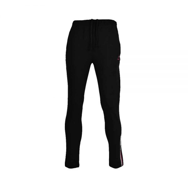 WOMENS LYCRA JERSEY PANT SPORTS CASUAL PANTS APOLLO 91W110 – JET BLACK (1)