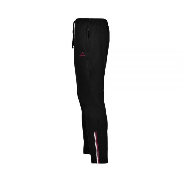 WOMENS LYCRA JERSEY PANT SPORTS CASUAL PANTS APOLLO 91W110 – JET BLACK (5)