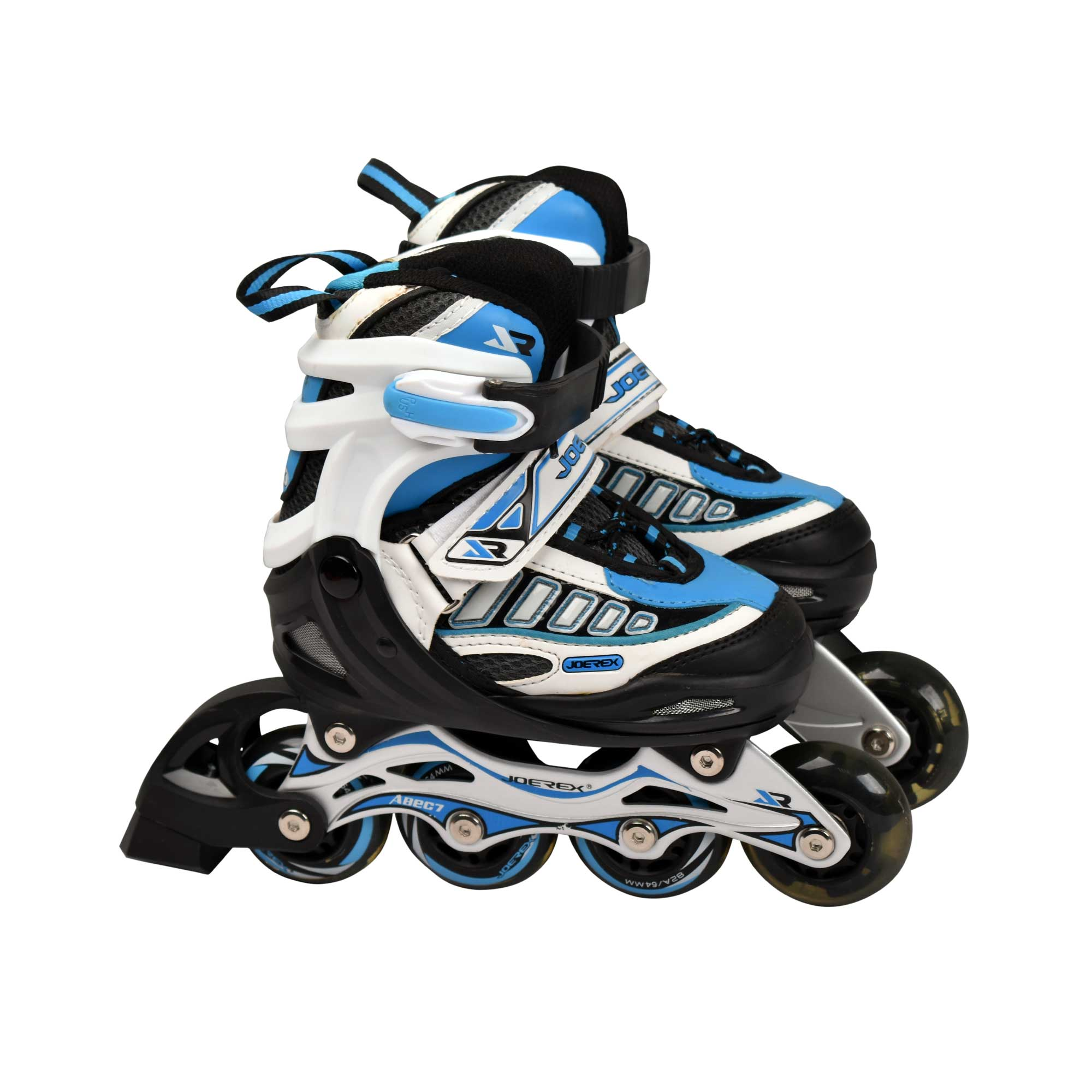 JOEREX JRO09700 INLINE ROLLER SKATE SHOES SKATING HELMET & PROTECTION SET